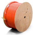 Reel of sewer cleaning hose